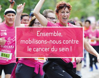 Medical Grand Ouest et Odyssea se mobilisent contre le cancer du sein !